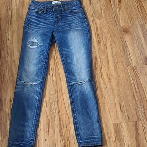 Madewell Faded Distressed Jeans Size 25